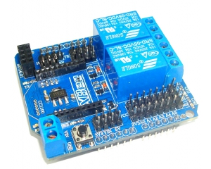 Xbee 2 Channel Relay Shield (Arduino Compatible)