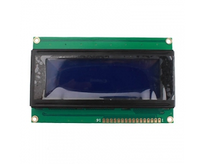 LCD2004 (5V Blue Backlight) 20 x 4 Lines White Character LCD Module (LCM204A 2004A)